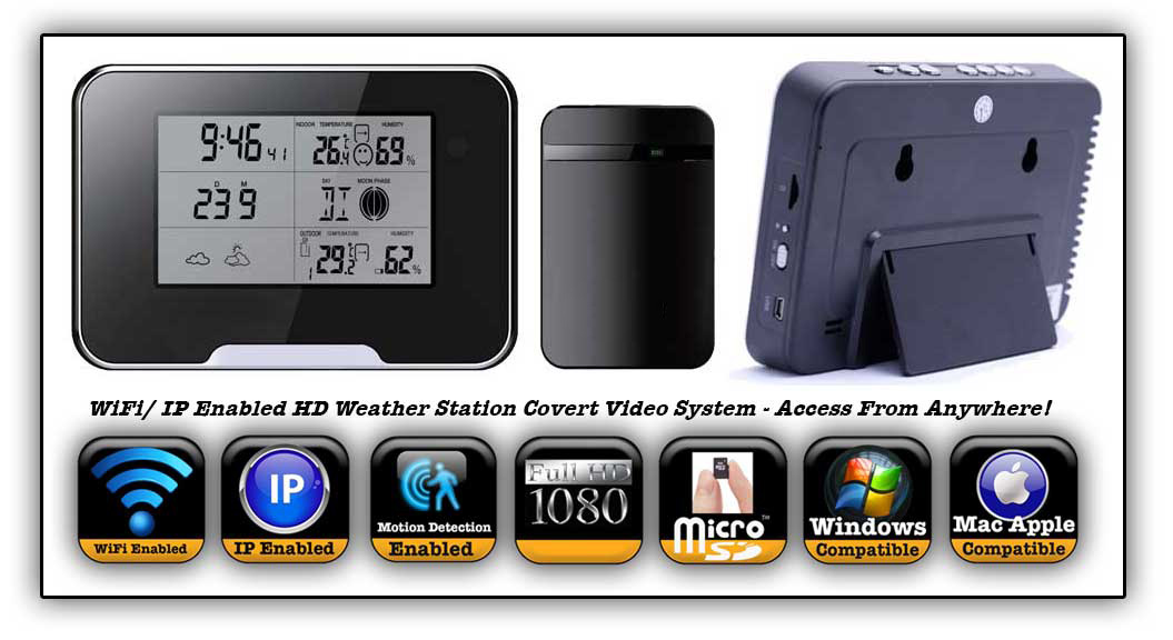 Weather Station Covert video system